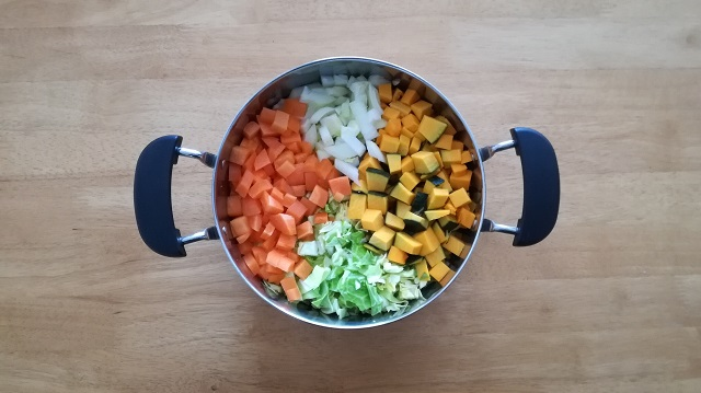 大学 スープ ハーバード 式 野菜